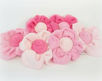 Washcloth Flower, Baby Shower Decoration, Baby Shower Favor, Diaper Cake, flowers, Hospital Gift, Mom to Be Gift, Washcloth Bouquet