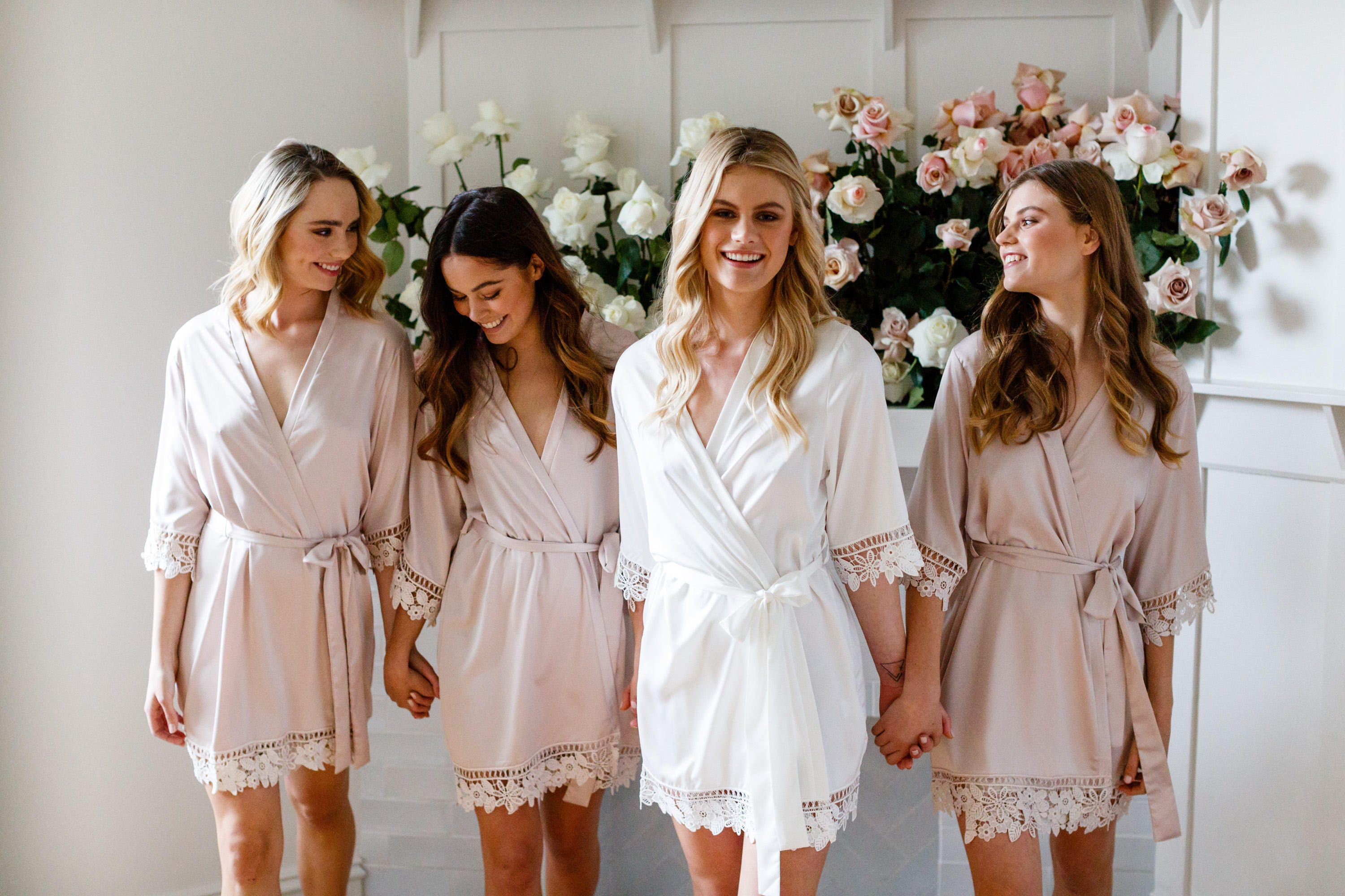 Set Of 7 Bridesmaid Robes // Robe // Bridal Robe // Bride Robe