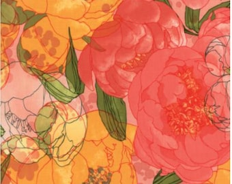 Blushing Peonies by Robin Pickens for Moda 48610 14 Pink
