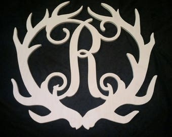 Unfinished Antler Initial