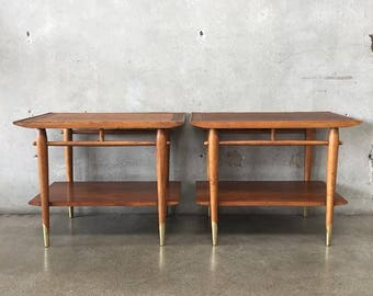 Mid Century End Tables by Lane (641ZKT)
