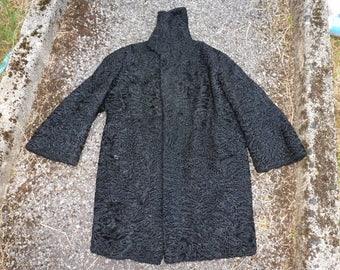 Victorian Astrakhan jacket/coat