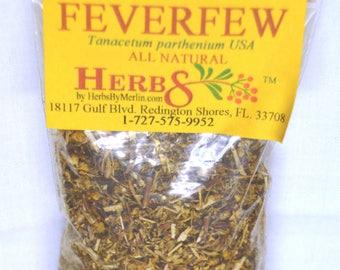 Feverfew  -  3 ounces.  (Tanacetum parthenium)