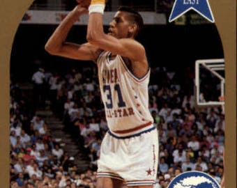 1990 Hoops #7 Reggie Miller  Indiana Pacers  All-Star