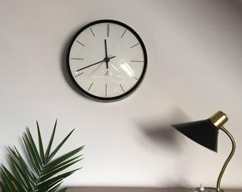 Wall clock Jaz 1960's vintage - mid century french clock.