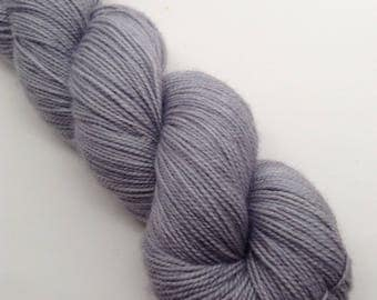 Ash Grove - Hand dyed Fingering Weight Yarn - Bootheel (400 yards)