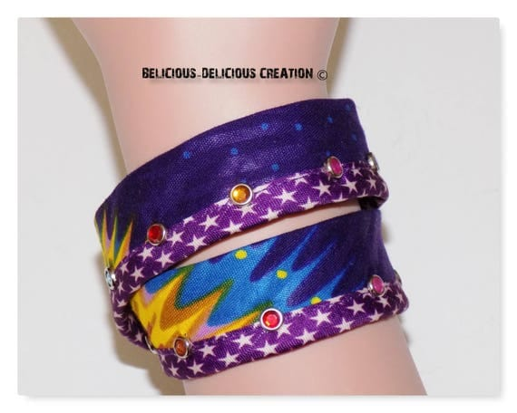 Original Bracelet! WAXSTAR! Multi size 40cm long wax fabric is 45cm belicious delicious creation
