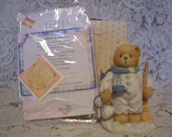 Cherished Teddies EARL Figurine with Box and Certificate