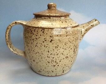 Studio Made Vintage Pottery Teapot Coffee pot