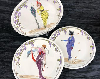 """1 Of 3 Villeroy & Boch DESIGN 1900 8"""" Salad Plates Luxenberg Porcelain Vintage"""