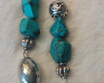 LongTurquoise Earrings