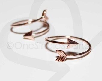 Two (2) Adjustable Arrow Rings