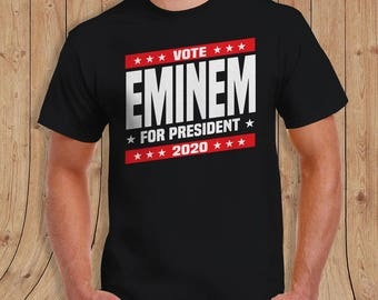 EMINEM FOR PRESIDENT - special edition - Gifts for him - limited quantities