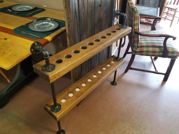 Pool Cue Rack   Man Cave   Billiard Room   Pool Table   Pool Cue