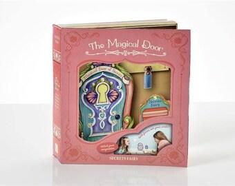 Fairy Garden  - The Magical Door - Secrets 3PC. Gift Boxed Set - Miniature