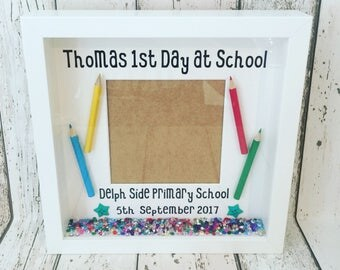 First Day at School Nursery photo frame