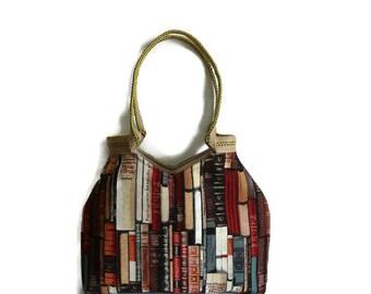 Gobelin tote bag, book lover gift, gobelin shoulder bag, tapestry bag for book lovers, school bag, everyday bag, city bag ,unique bag