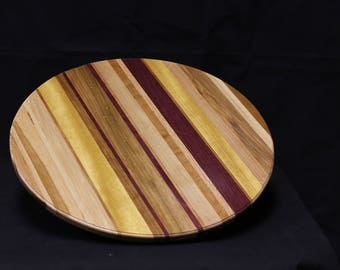 206 Exotic Striped Lazy Susan