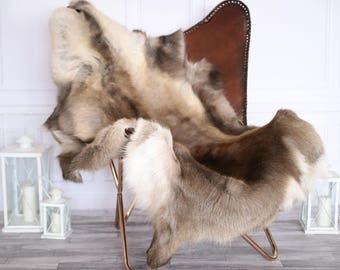 reindeer hide reindeer rug reindeer skin xl large throw style