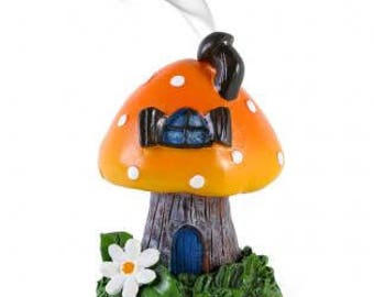 Toadstool Incense Burner | Toadstool House | Fairy House | Toadstool Fairy House