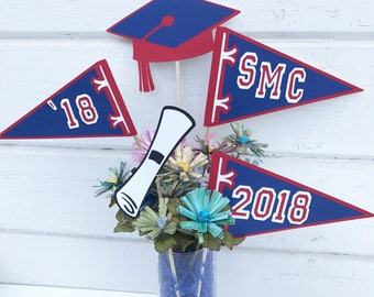 Graduation - Graduation Party Decor - Graduation Decor - Grad Centerpiece - Grad Party - Graduation Decorations - Photo Booth- Class of 2018