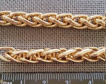Curb chain (6mm) - 25cm lengths