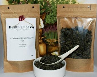 Ceylon Green Dynasty Tea 75g - Health Embassy - Organic