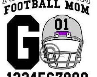 Football Mom Svg, Football Helmet Svg, Football Svg, Dxf, Eps Cutting file
