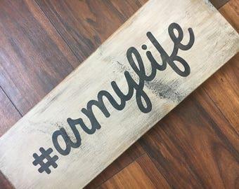 armylife | wood decor