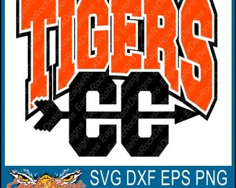 Tigers Cross Country| SVG| DXF| EPS| Png| Cut File| Tigers| Cross Country| Mom| Dad| Vector| Silhouette| Cricut| Digital Download