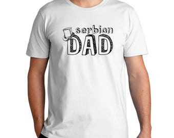 Serbian Dad T-Shirt