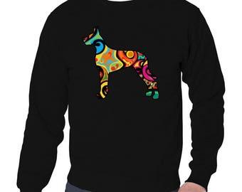 Psychedelic Great Dane Sweatshirt
