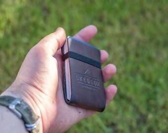 Leather wallet / credit card holder