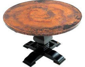 Copper Covered Table