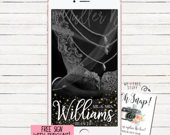 Wedding Snapchat Filter Wedding Snapchat Geofilter Wedding Snapchat Wedding Geofilter Wedding Filter Wedding Snap Chat Mr. & Mrs Filter #15