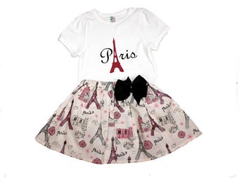 Birthday girl Paris outfit,  Girl Paris outfit,  Girl birthday outfit ,  Paris, Disney outfit,  Girl outfit, Girl dress