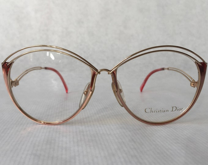 Christian Dior 2535 Vintage Eyeglasses New Old Stock Made in Austria