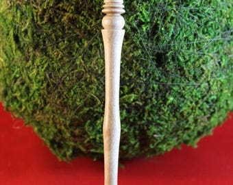 Birch wood hair stick