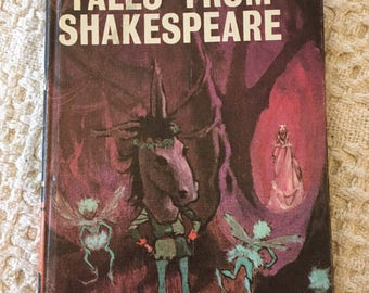 Tales from Shakespeare by Charles and Mary Lamb, A Bancroft Classic , 1975 Hardcover