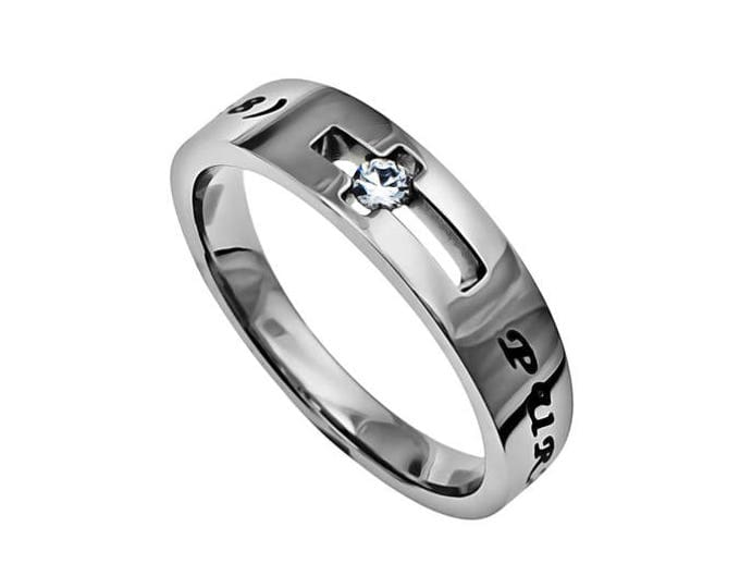 """Solitaire Ring """"Purity"""""""