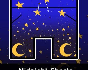Starry Night Basketball Shorts