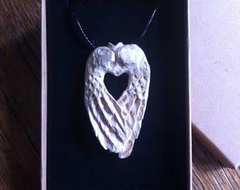 Angel Wings pendant by STUART CLARK