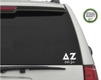 Delta Zeta Car Laptop Yetti Decal Sticker
