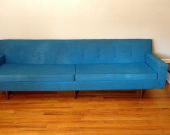 Mid Century Sofa, 96 Inches