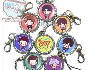 GOT7  NEVER EVER kpop charms / keychain / phone strap / got7 keychain / got7 dust plug / got7 kpop