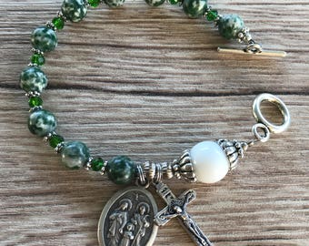 Rosary Bracelet The Holy Family