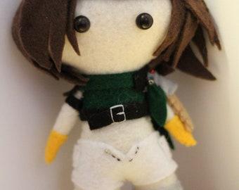 FFVII Inspired Plush: Yuffie Kisaragi
