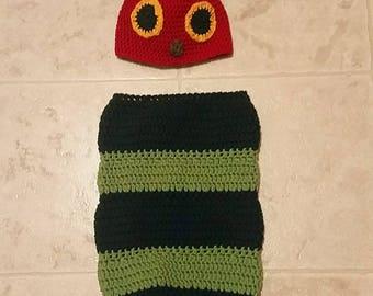 Caterpillar Hat and Sleep Sack