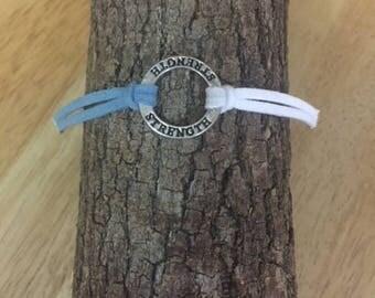 Cervical Cancer Awareness Bracelet