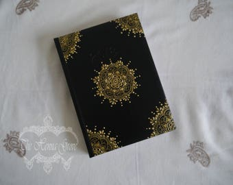 Handpainted notebook, diary, bullet journal A5 size